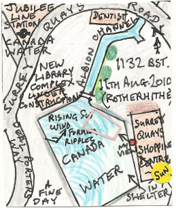 New Library, Canada Water (map)