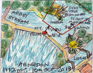 The Hunter by Abingdon Weir (map)
