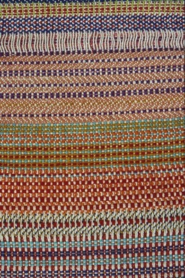 Experiments in Wool Combinations and Permutations on 'Dryad' Craft Loom